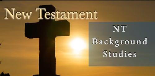 BFF New Testament Background Studies