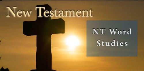BFF New Testament Word Studies